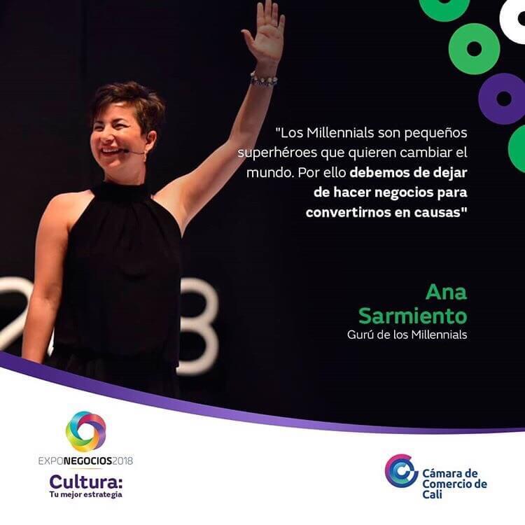 Ana Sarmiento - Keynote Speaker Exponegocios